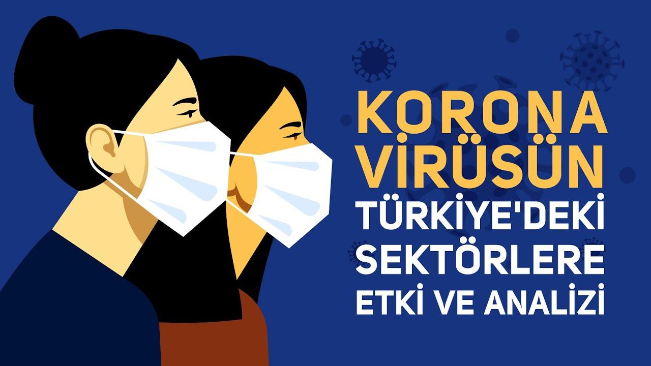 korona virüsünün türkiyedeki sektörlere