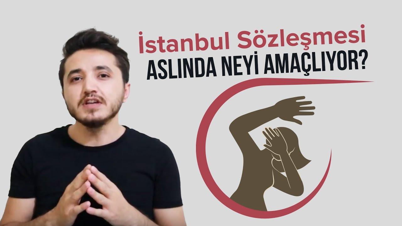 istanbul sözleşmesi