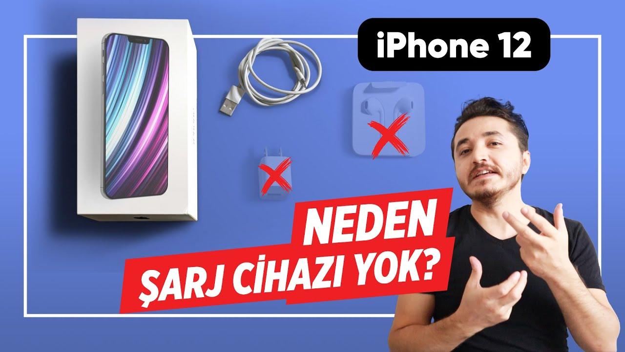iphone'da neden şarj aleti yok